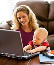 Менеджер для работы в интернете (женщина)